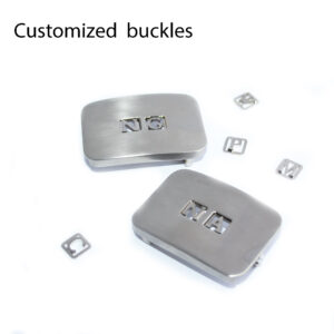customizable buckles