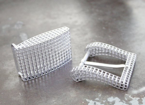 3D STERLING SILVER BUCKLES