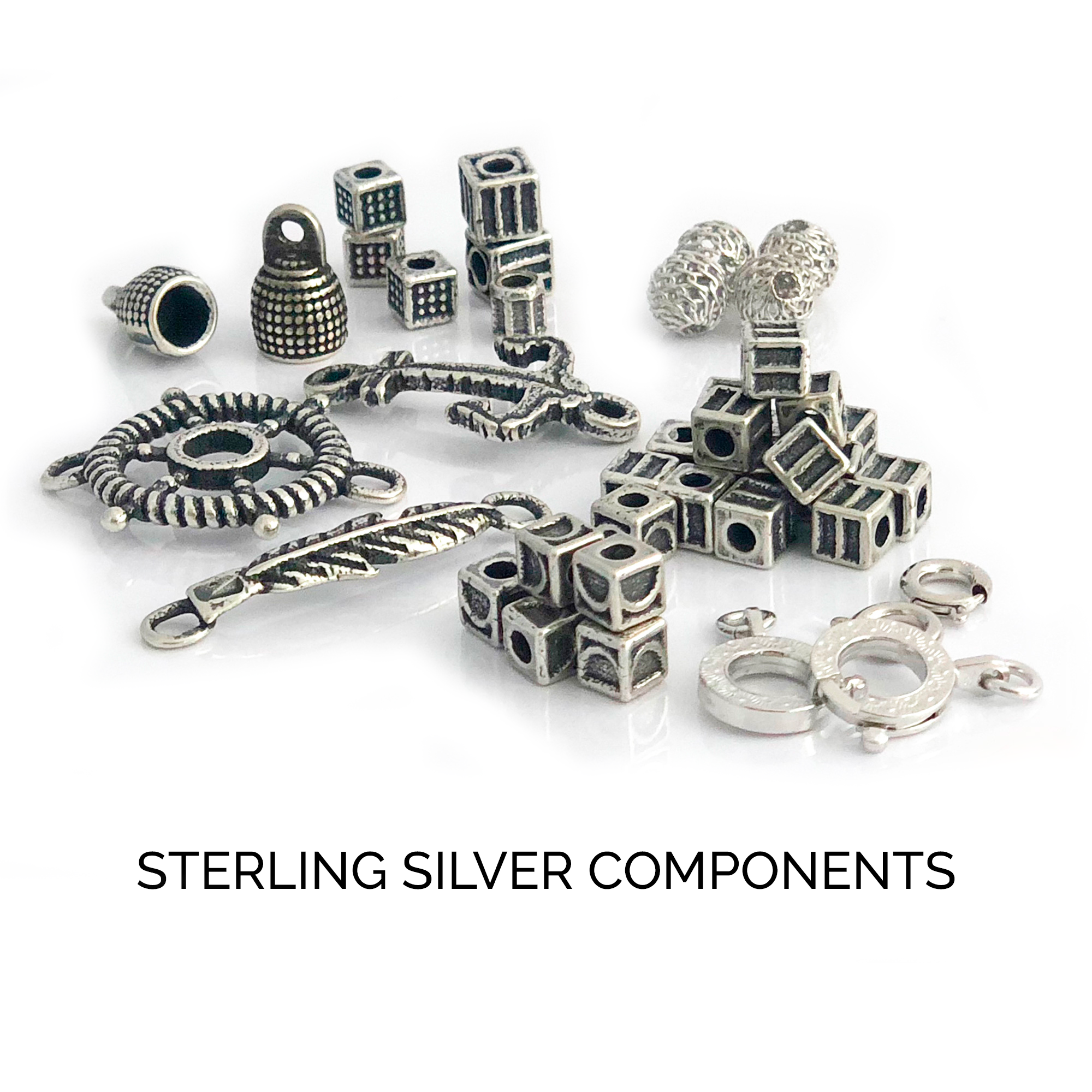 STERLING SILVER COMPONENTS